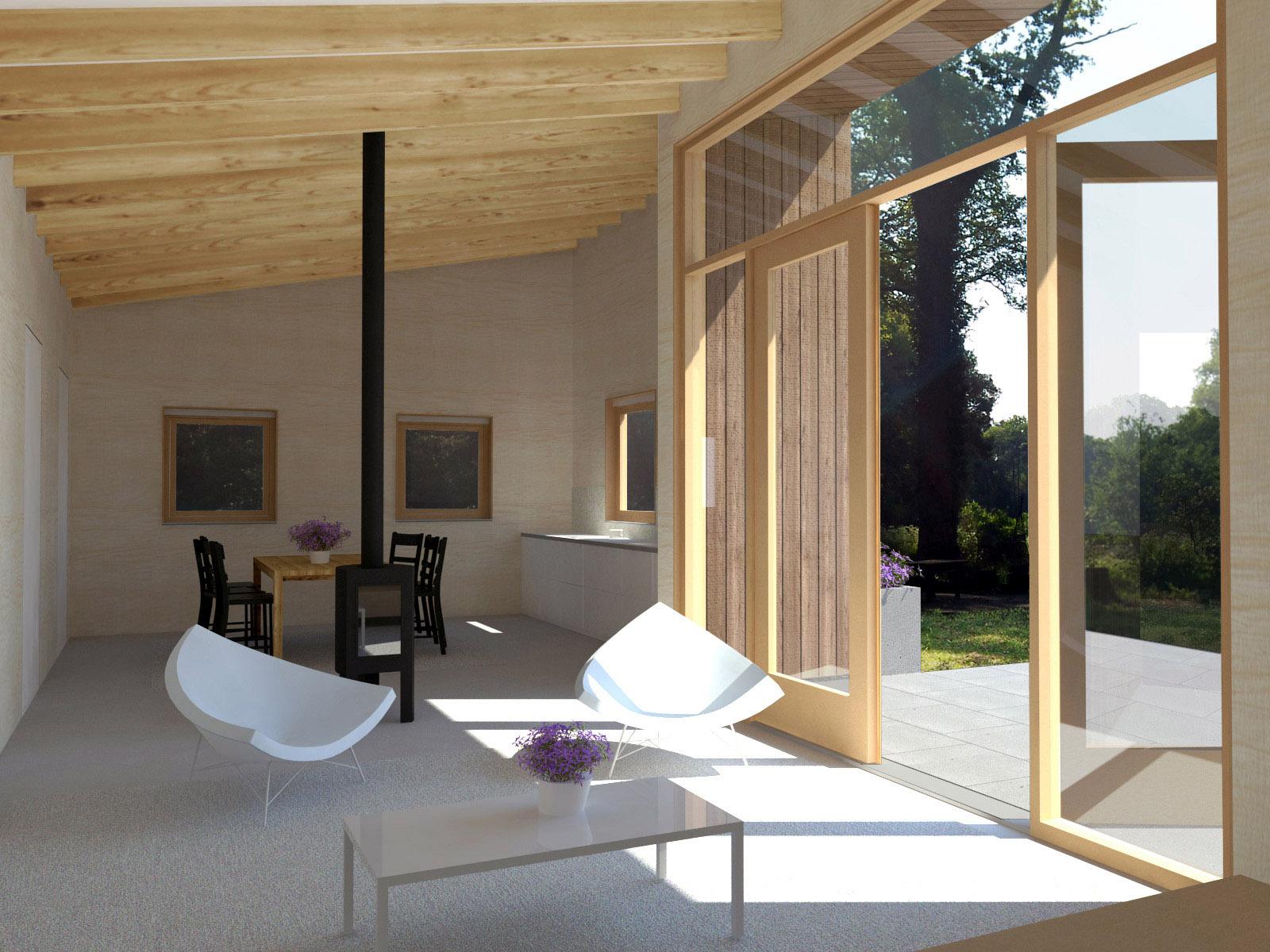 nieuwbouw woonhuis ks 3d ontwerp interieur huis ir rolf moors architect eindhoven 09