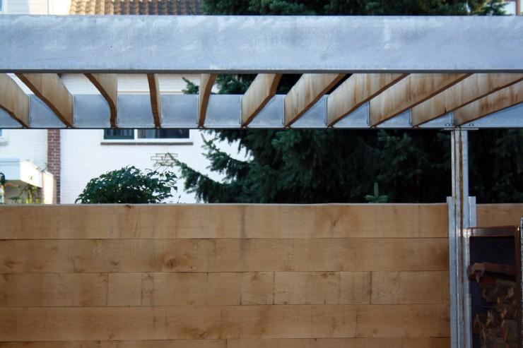 Verbouwing Woonhuis XZ - Leefkeuken Tuinpaviljoen - Architect Ir Rolf Moors Eindhoven - 06