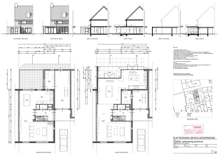 Verbouwing Woonhuis XZ - Leefkeuken Tuinpaviljoen - Architect Ir Rolf Moors Eindhoven - 43