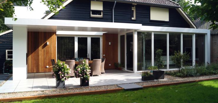 Architect Eindhoven - Ir Rolf Moors - Moderne Verbouwing Woonhuis JL - Heeze-Leende 02_sfs
