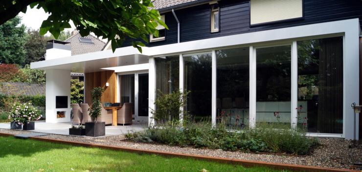 Architect Eindhoven - Ir Rolf Moors - Moderne Verbouwing Woonhuis JL - Heeze-Leende 03_sfs