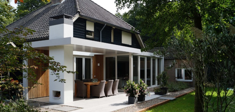 Architect Eindhoven - Ir Rolf Moors - Moderne Verbouwing Woonhuis JL - Heeze-Leende