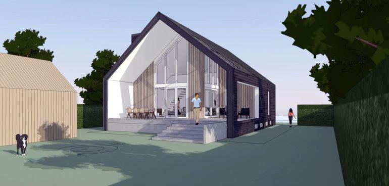 Nieuwbouw woonhuis Geldrop- Mierlo - Moderne Schuurwoning - Ir. Rolf Moors Architect Eindhoven