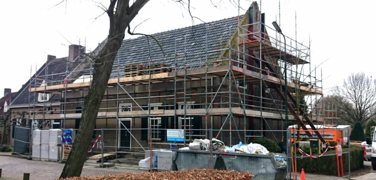 Grote Verbouwing monumentaal  woonhuis Son en Breugel  - Huis Vernieuwen Renoveren  Ir. Rolf Moors Architect Eindhoven